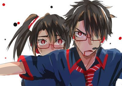 Ipo-kun protecting Ipo-chan - by Midorizou