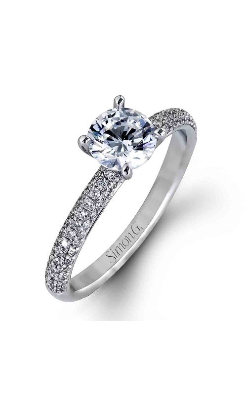 Engagement ring for women. This engagement ring can fulfill your dream.  #Simon #G #rings #ohio