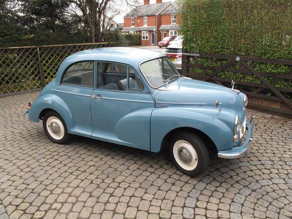 1961 Morris Minor 1000 Clipper Blue Pete Hulme