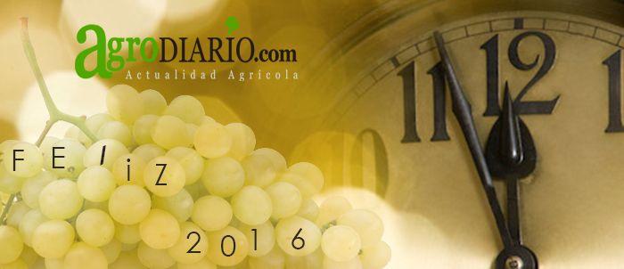 El equipo de www.agrodiario.com tu actualidad agrícola de cada día te agredece tu confianza en estos meses desde nuestro lanzamiento, te deseamos un próspero y feliz 2016