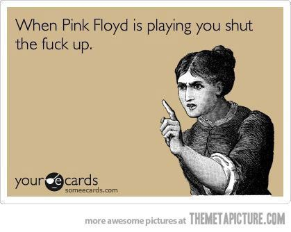 When Pink Floyd is playing... - The Meta Picture                                                                                                                                                     More