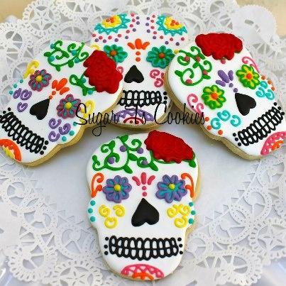 dia de la muerte cookies - Google Search