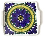 ARABIA HANDMADE 1960's ceramic tray Juurikkala-Granlund