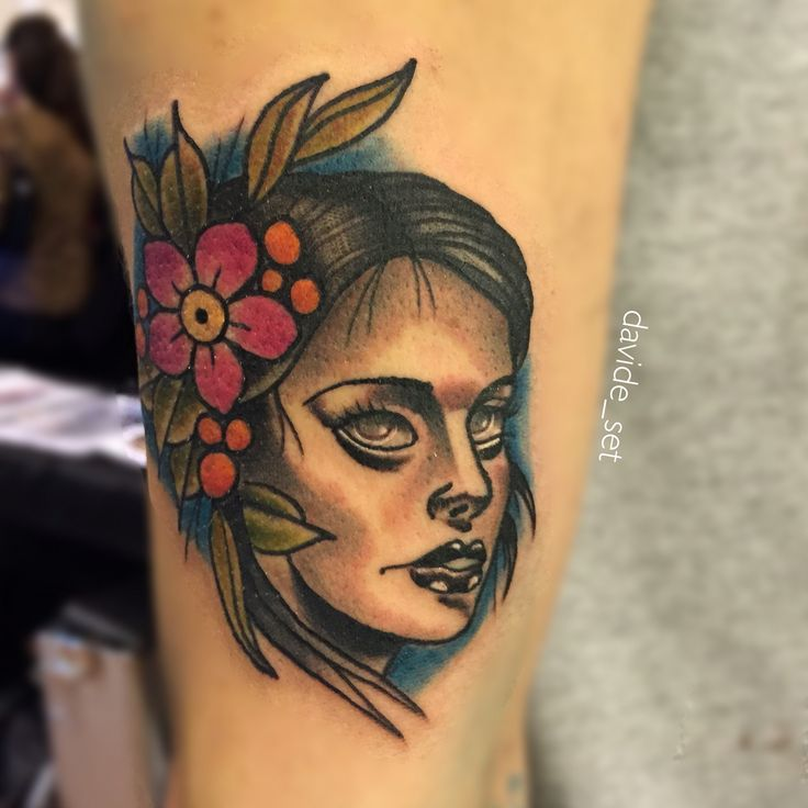 Flower lady by Davide Set from Italy