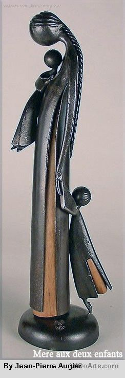 Sublime French sculptor Jean-Pierre Augier