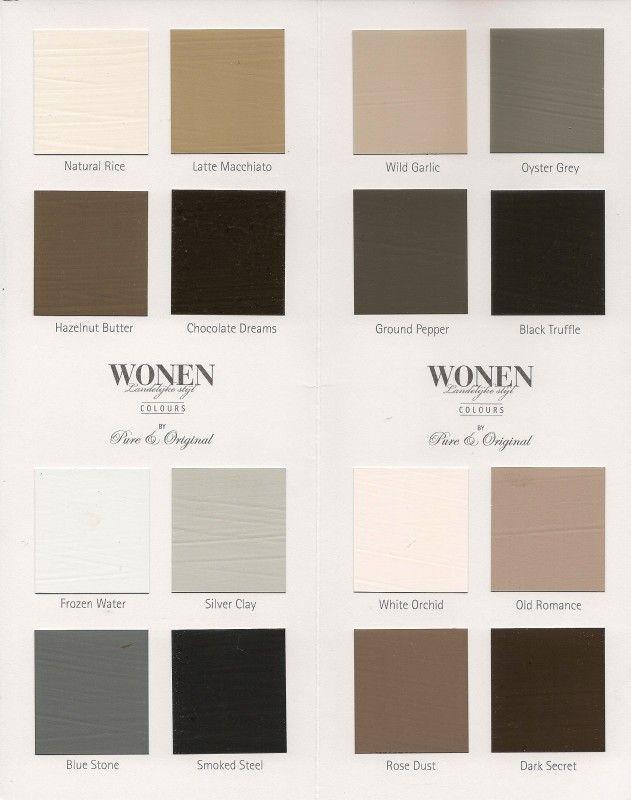 37 best Colours WONEN Landelijke Stijl by Pure & Original images on ...