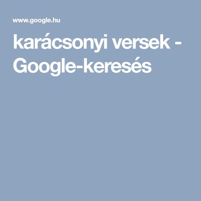 karácsonyi versek - Google-keresés