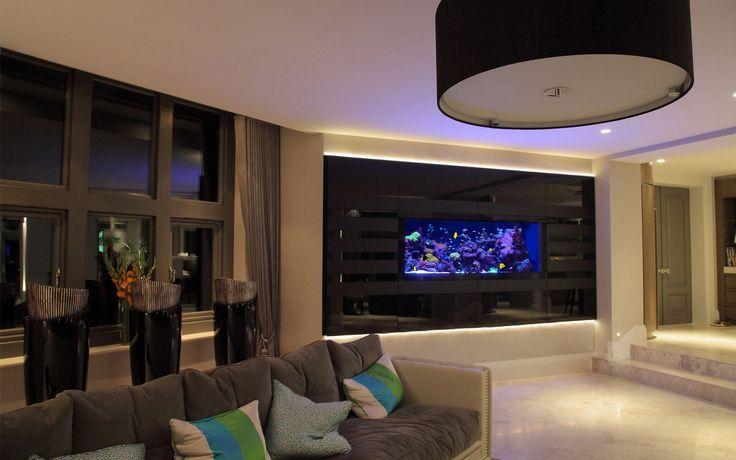 Aquarium Architecture | Design & Installation of Bespoke Luxury Aquariums | UK & USA | London | New York | International