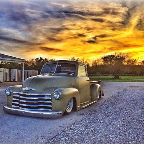 For sale on eBay now! It's been a fun truck, and will make someone extremely happy. Don't miss out. Link is at the top of my page.  #halesspeedshop #lsx #lsswap #airride #bagged #chevy #classic #chevytruck #hotrod #5window #onthegrounddesigns #1952 #texas #builttodrive