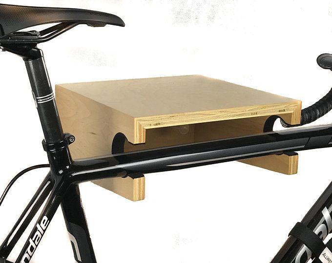 Steel Bike Rack Stand Storage Wall Mounted Hook Hanger Bicycle Holder KS
