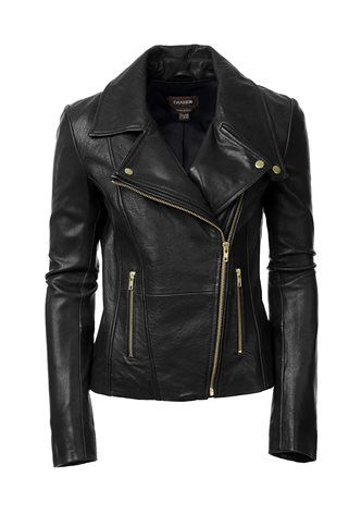 Danier Official Store, Bianca lamb leather biker, black, Women, 104030570