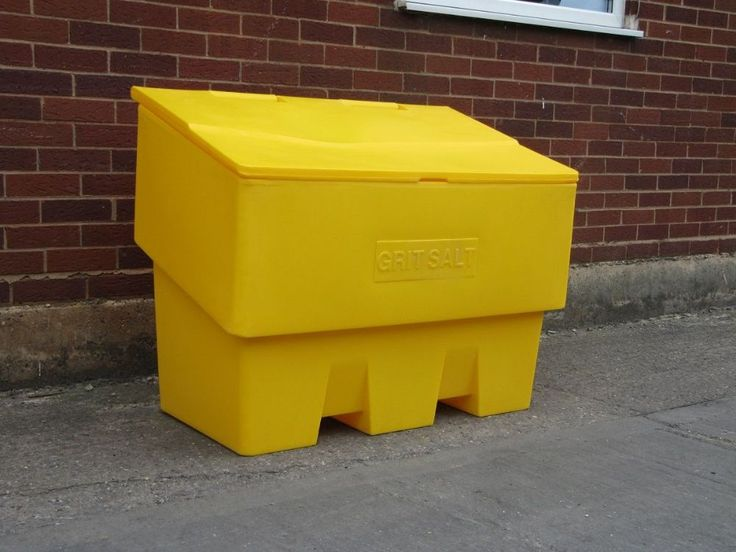 This Extra Large 14 Cu Ft 400 Litre Grit Salt Bin Is Manufactured From  Durable UV