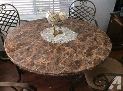 Breakfast Dinette 48 Acrylic Hard Stone Table