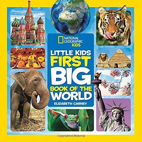 8 best 2016 gift guide images on pinterest books kid books and purchased by nana national geographic little kids first big book of the world national geographic fandeluxe Gallery