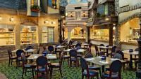 Las Vegas, NV in the Paris Hotel ~  Le Village Buffet brings to life five provinces of France for a dynamic, multi-flavored meal ~ live-action stations w/food cooked to order THE BEST buffet I've ever been to.