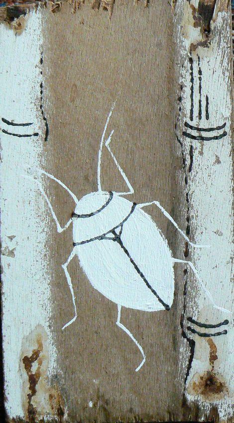 Ronald Rae, Bug on Bamboo on ArtStack #ronald-rae #art