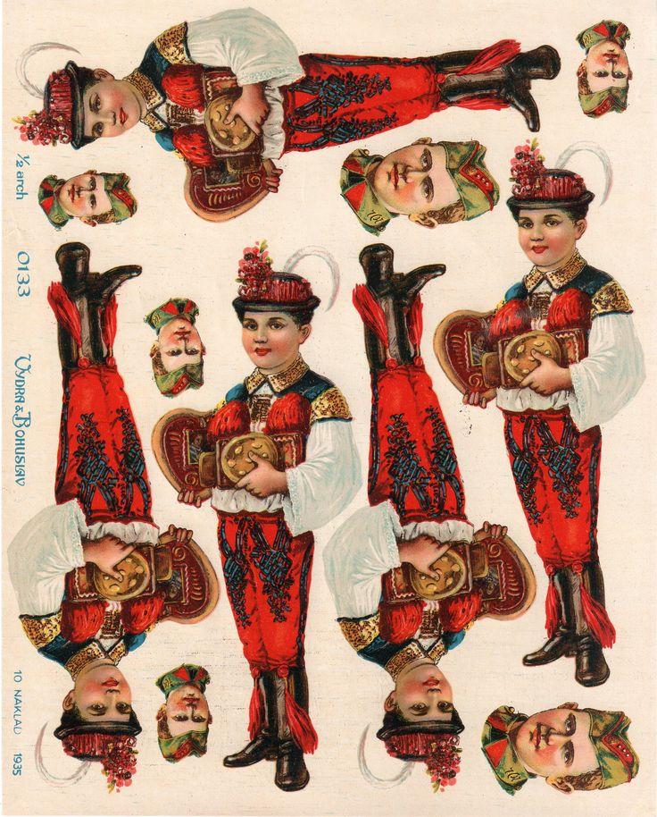 1/2 arch print - fy Vydra&Bohuslav 1935 My personal collection