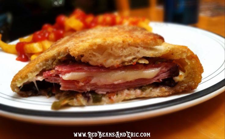 the NEW twist on the classic New Orleans Muffuletta sandwich ...