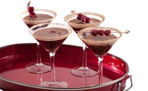 Too-Darn-Good Chocolate Martinis #epicure