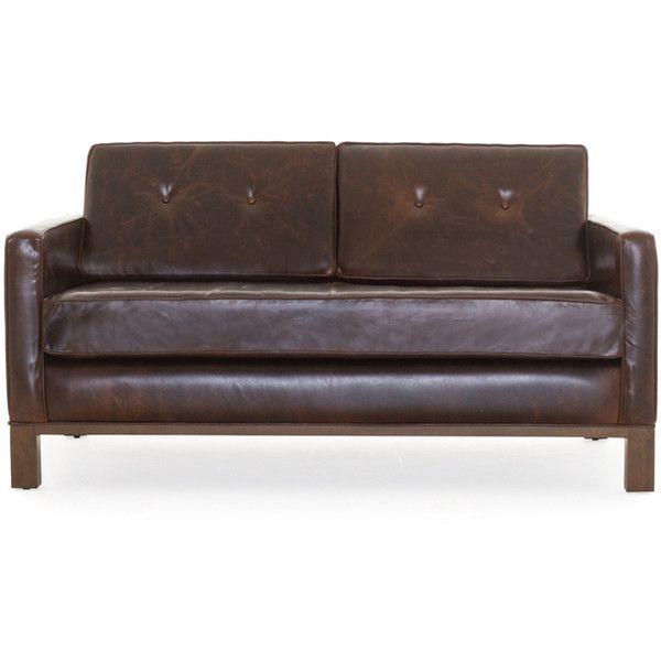 Leather Sectional Sofa Joybird Raine Mid Century Modern Purple Leather Loveseat liked on Polyvore featuring home furniture sofas purple leather loveseat m u