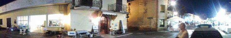 """Studio d'Arte di Ferruccio Gallina (veduta esterna) durante la Sagra di San Gaetano - Ferruccio Gallina's Art Studio during """"The San Gaetano Festival"""""""