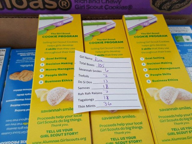 best 25 order girl scout cookies ideas on pinterest