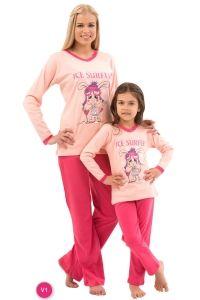 Roly Poly 6558 Kız Garson Pijama Takımı