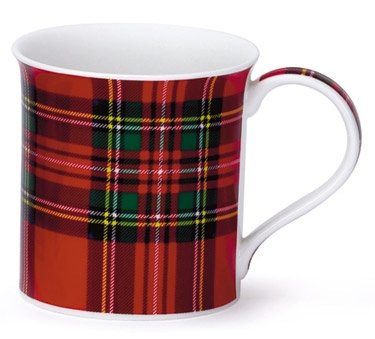 Royal Stewart tartan bone china mug.Just bought this mug in Glasgow...Love it.