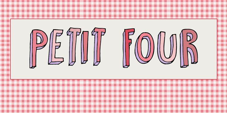 DK Petit Four font by David Kerkhoff - FontSpace