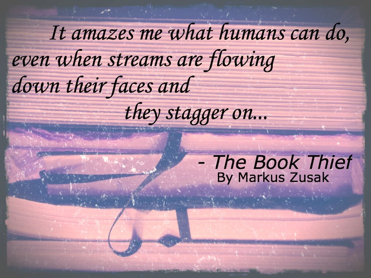 an overview and analysis of the novel the book thief by markus zusak I've been meaning to talk about the book thief by markus zusak for several days  now briefly, it tells the story of a young girl, liesel meminger, as she is raised   zusak's characters in this book were particularly strong to me.