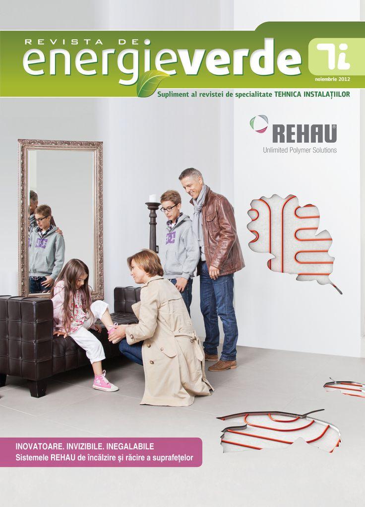 Suplimentul Revista de energie verde editia noiembrie 2012