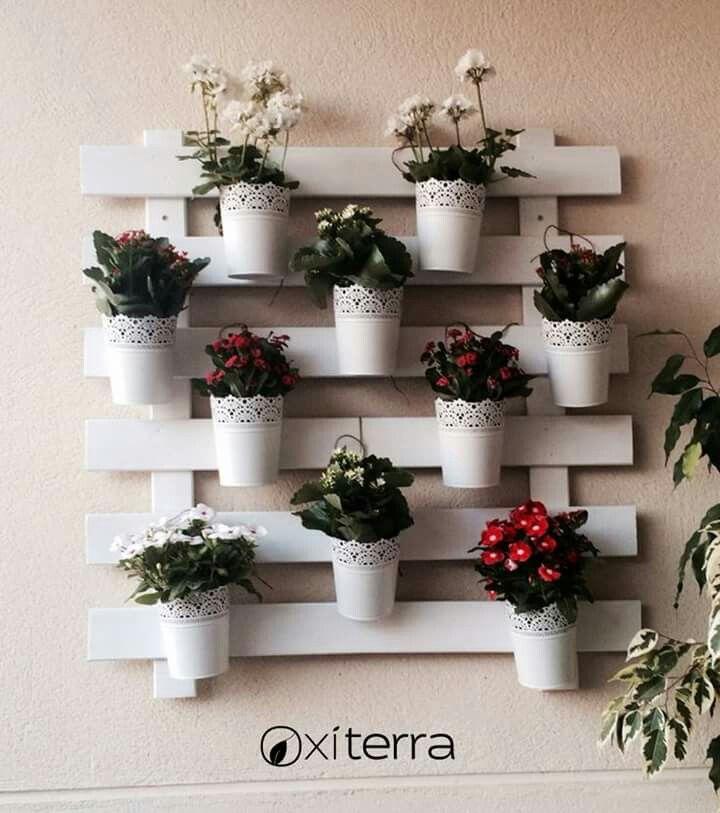 Beautiful flower arrangement perfect for a backyard shed!