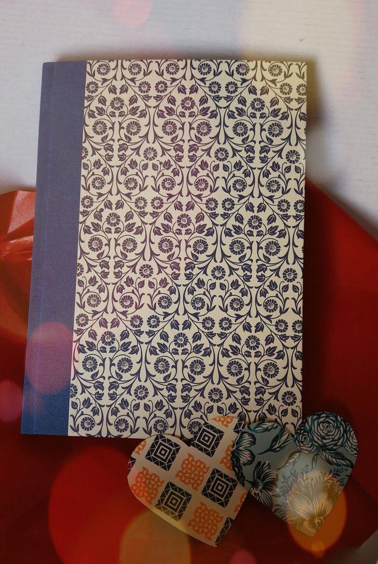 Wunder schönes Notizbuch, handgemacht mit super persönlichem Service ❤ von  Nauli  https://de.dawanda.com/shop/nauli