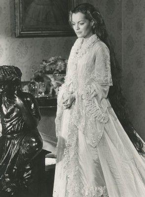Romy Schneider comme l'impératrice Elisabeth d'Autriche à Ludwig par Visconti, 1972