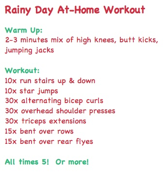 Riany Day Workout