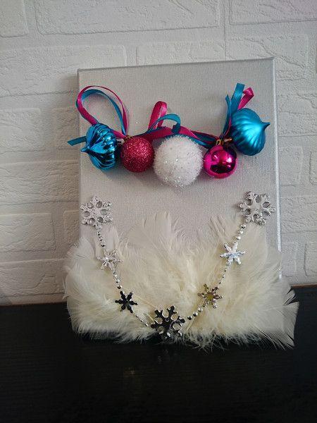 Obraz bożonarodzeniowy 18x24 centymetry. w barbarella na DaWanda.com