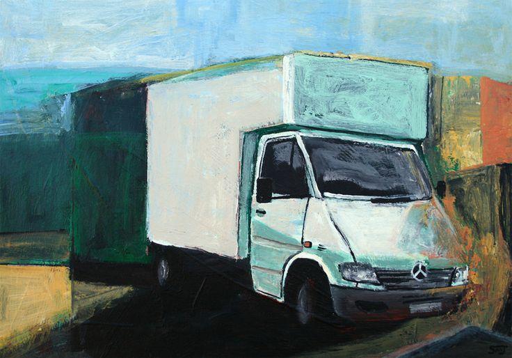 "Saatchi Online Artist: Shaun Michael Jones; Acrylic 2013 Painting ""Ambition"""
