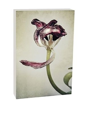 44% OFF Art Block Purple Petals - Fine Art Photography On Lacquered Wood Blocks