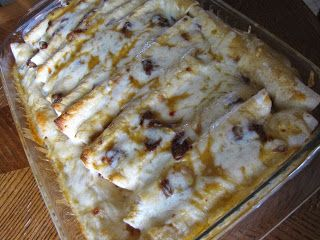 Lighter Chicken Enchiladas | Food | Pinterest | Lighter, Enchiladas ...