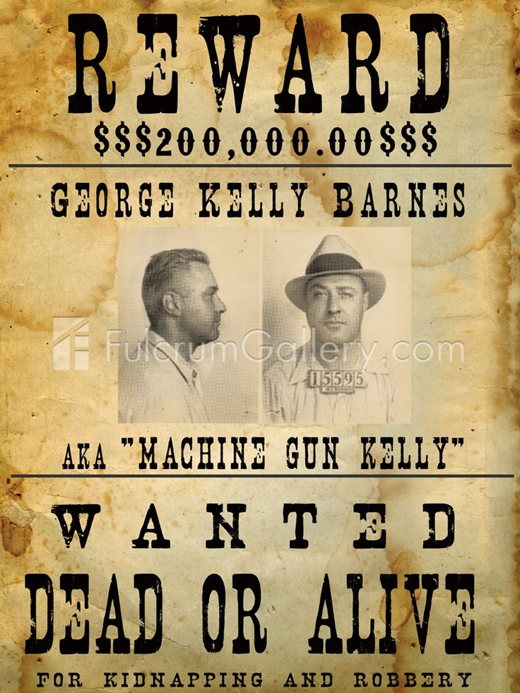 17 Best images about WANTED posters – Wanted Poster Letters