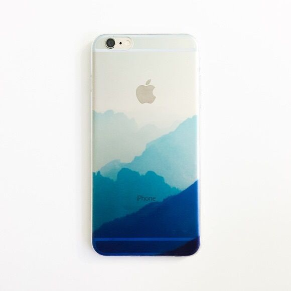 Ombré Mountains iPhone 6 Plus & 6S Plus Case So chic! Soft, not hard shell. Doesn't cover the screen, just the metal part. All photos are my own, (seriously, I took and edited these) not manufacturer's. No reserves & holds. First come, first served. Slightly translucent. Installed on Gold iPhone for photo. • BECAUSE OF LIGHTING, PLEASE BE AWARE THAT COLOR OF THE ACTUAL ITEM MAY SLIGHTLY VARY FROM THE PHOTOS • PRICE IS FIRM UNLESS YOU BUNDLE • DON'T MAKE AN OFFER • I'M NOT WILLING TO…