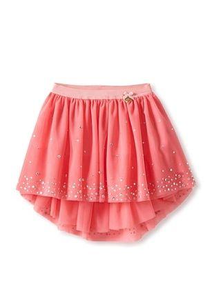 61% OFF Blumarine Girl's Tulle Skirt with Stones (Fuchsia)