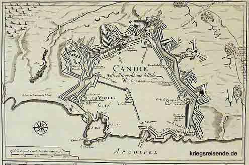 Plan von Candia