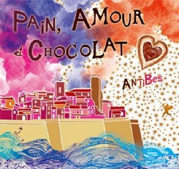 Pain, amour et chocolat : un salon #gourmand et #romantique à Antibes
