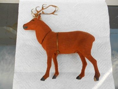 antique candy containers | Details about Rare ANTIQUE German REINDEER Candy Container w/ SANTA ...