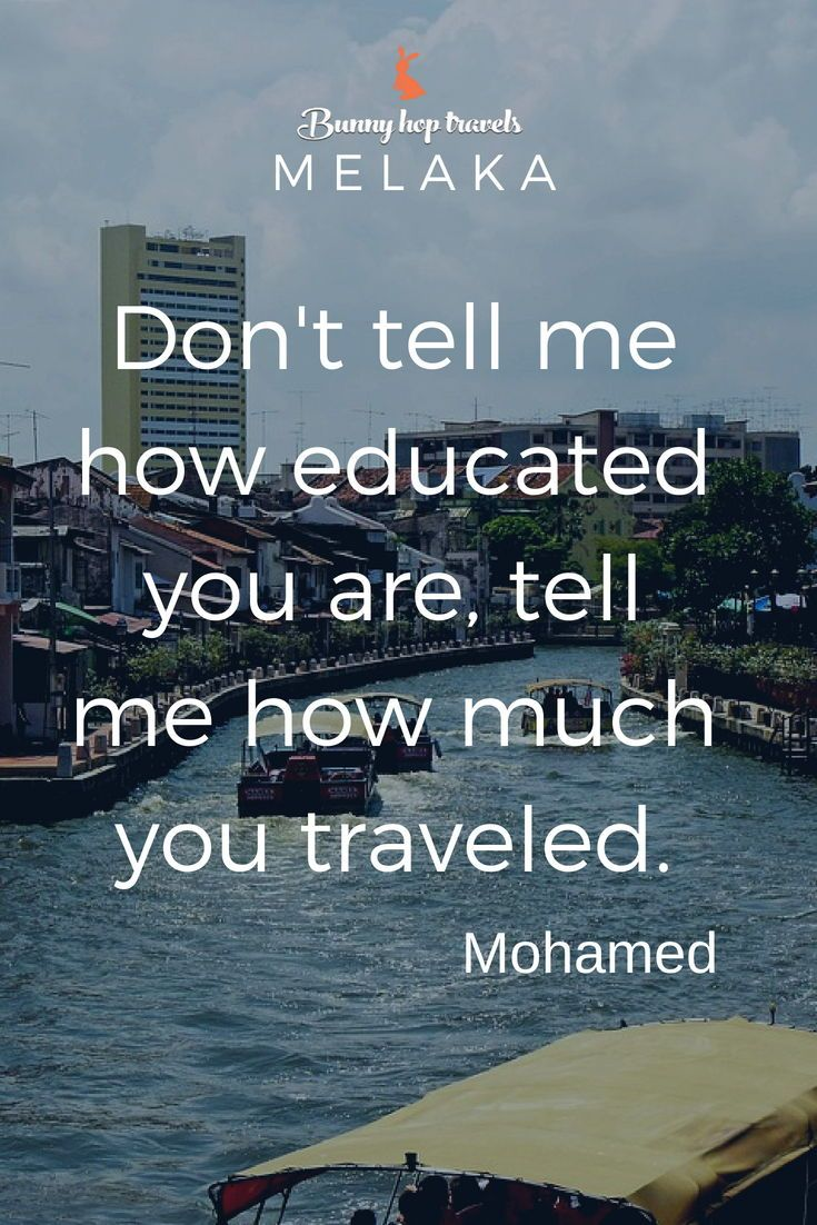 A Famous Travel Quote From Mohamed Traveldestination Travelquotes
