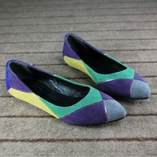 Mix N Match Color Genuine Leather Shoes  [178]  from Socishop