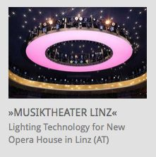 Lighting Technology for new Opera House 'Musiktheater' Linz (Austria) // www.kraftwerk.at