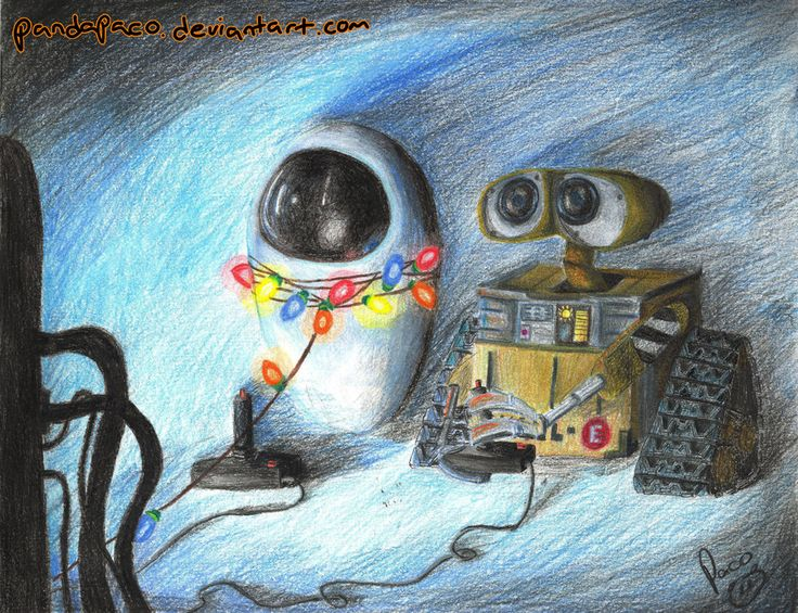 251 best WALLE and EVE images on Pinterest  Wall e Disney art