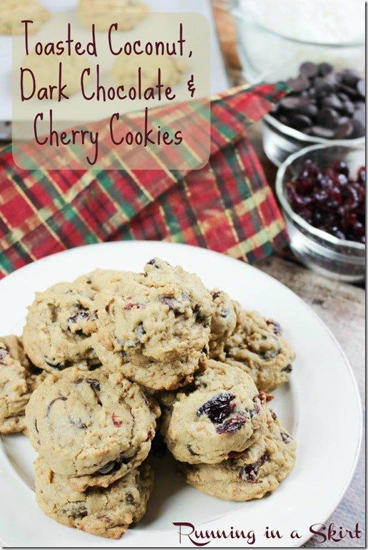Toasted Coconut Cookies | Running In A Skirt
